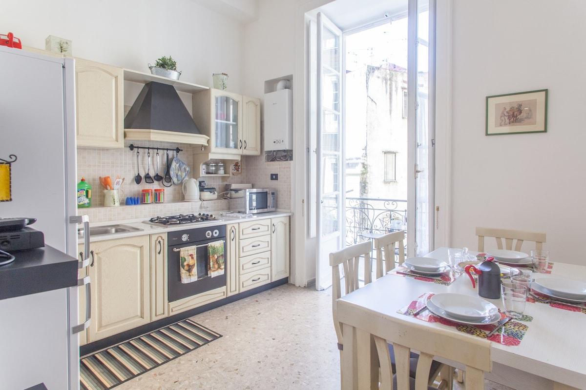 Affittare una seconda casa a Napoli per un mese
