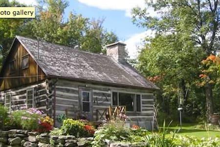 Log cabin on peak of Quebec Adirondacks -150 acres - Haus