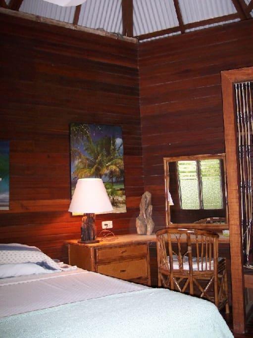 Cabana 1:  bedroom