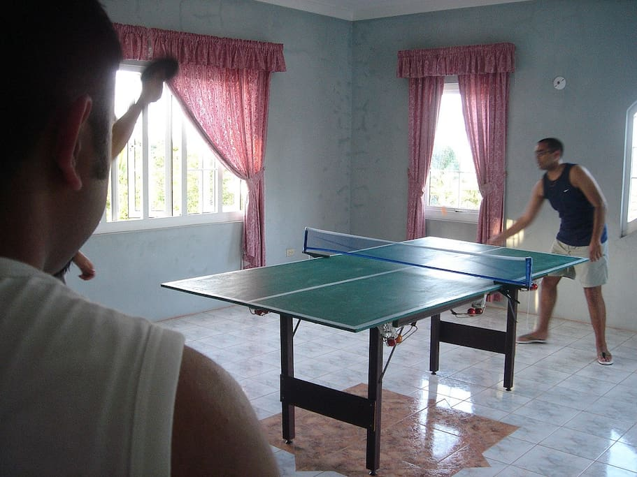 Table Tennis for the sporty types!