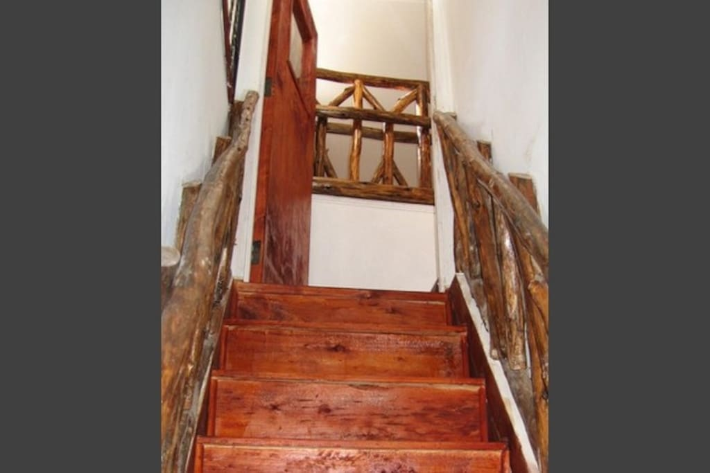 Cottage Stairs to the Loft