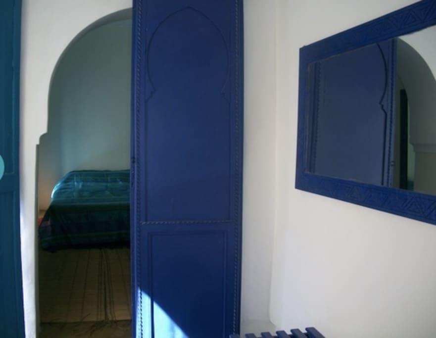 Entrée chambre bleue