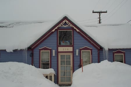 Renovated miners cottage in town.