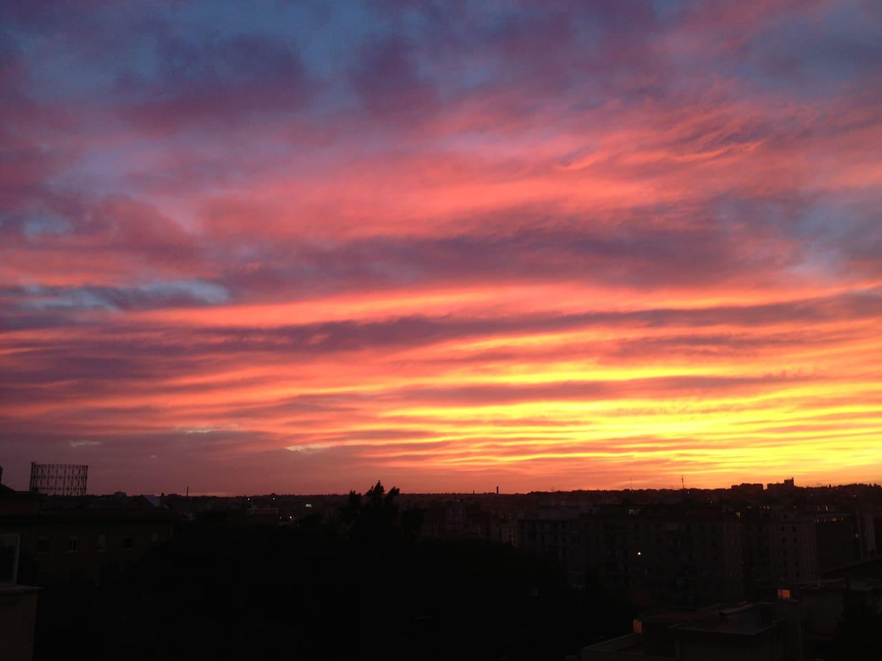 roman sunset 1