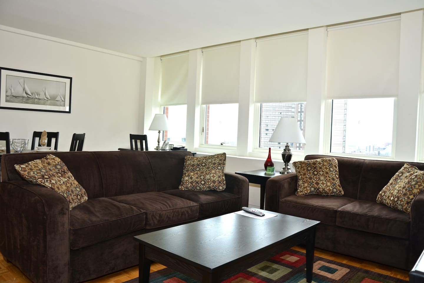 [1365] 1BR Across From Pru Center