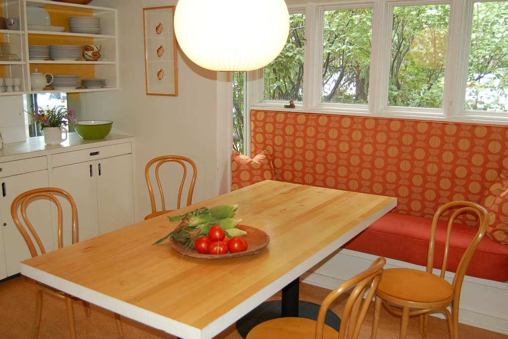 Eat-in kitchen - the place to hang out