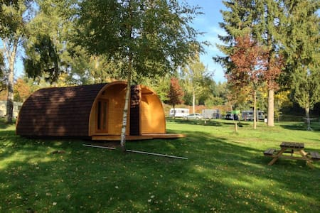 4pers hut at camping Luxembourg - Chatka