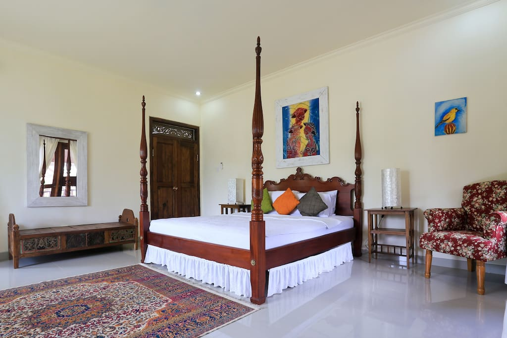 Private Room with Garden View, Ubud