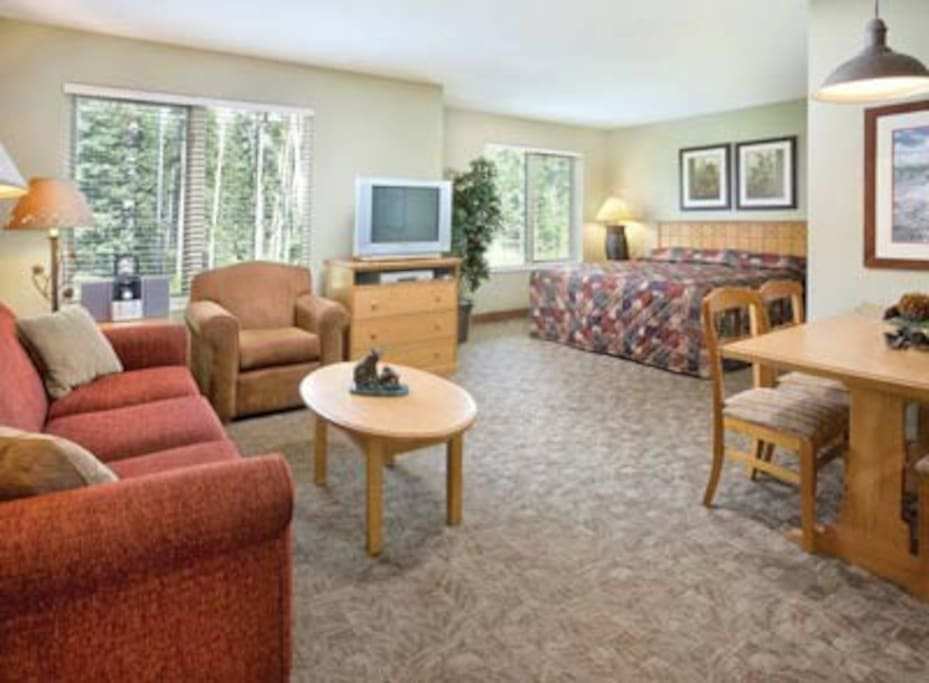 1-Bedroom Timeshare in Canmore #1