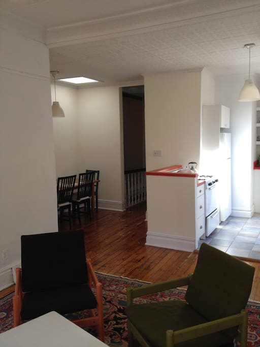 Kitchen and dining alcove