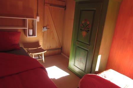Gemütliche Zimmer in der Casa Bruna - Davos