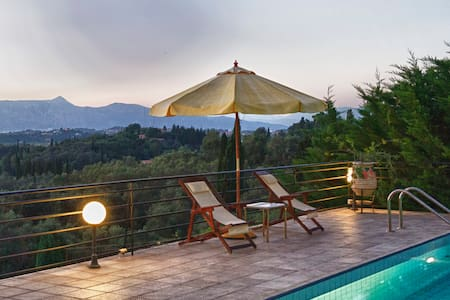 Luxury Villa in Corfu with pool - Pikoulatika