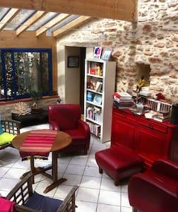 chambre indépendante dans ferme restaurée - Marignac-Laspeyres - Bed & Breakfast