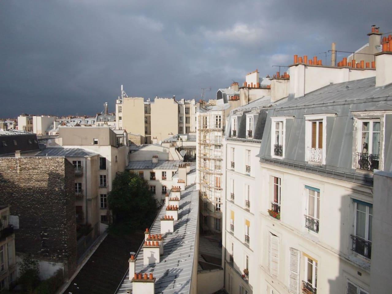 Artist Studio near Montmartre-Paris