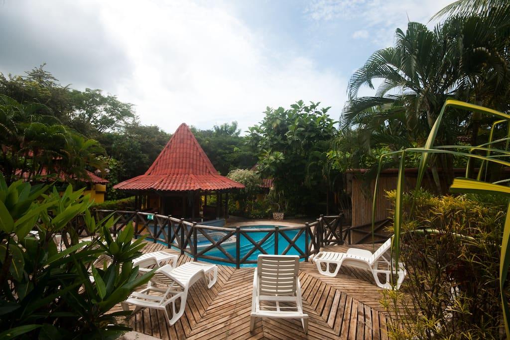 Cozy Boutique Hotel in Tamarindo