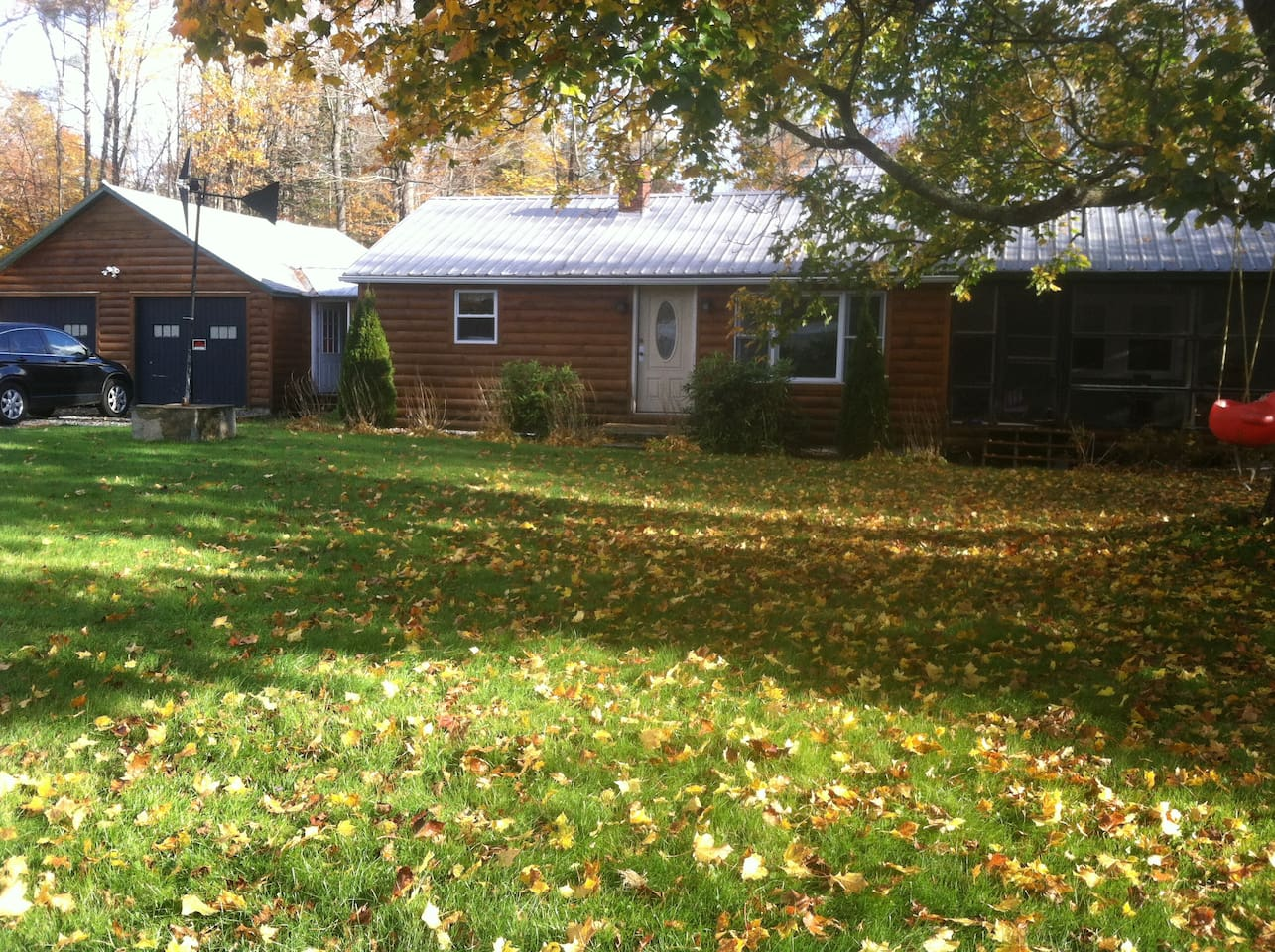 Large front and back yard.  Driveway easily accommodates multiple cars, boats, or trailers.