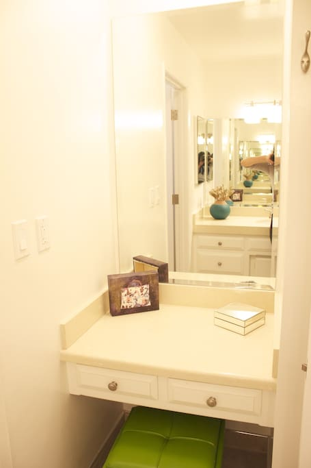 Makeup vanity mirror!