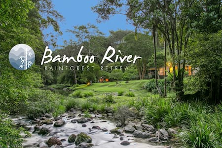 Bamboo River magical, serene and private. - Upper Wilsons Creek - Haus