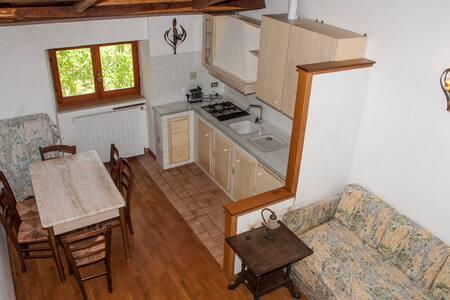 Delightful casale in hillside estate, 1 hr to Rome - Tagliacozzo - Apartment