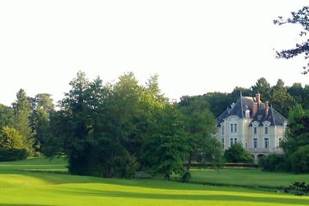 Chateau d'Ardree Apt Gite Mame 1749 6pax - Saint-Antoine-du-Rocher