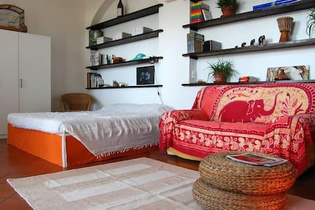 Bee&Bee. Grande stanza con terrazzo panoramico - House