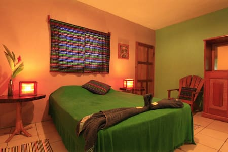 Gucumatz Lakeside Inn. Room 1. (1 double bed) - Pensione