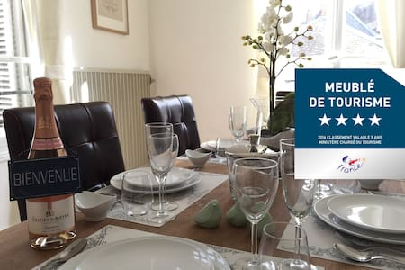 4 STAR Apartment in the heart of historic Saumur - Wohnung