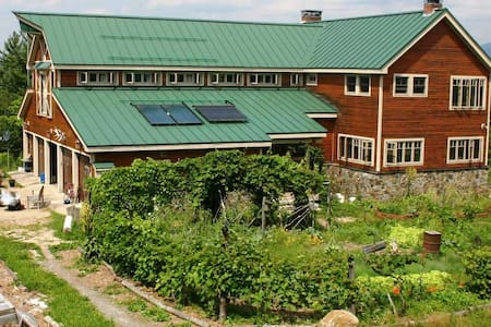 D Acres of NH Permaculture Farm - Yoga Room - Dorchester - Bed & Breakfast