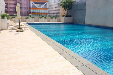 Studio for 2-6pp MTR Pool Gym Sauna - Mongkok - Apartment