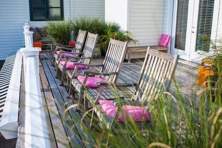 Standard Room with Private Deck #2 - Greenport - Autre
