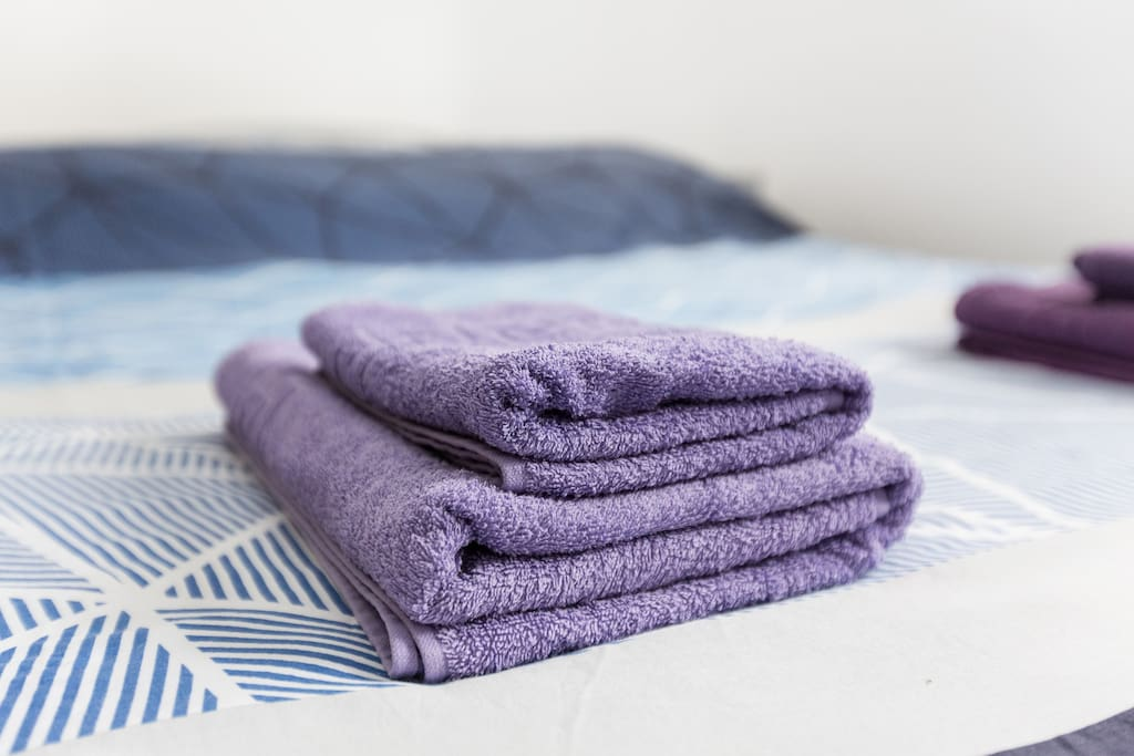 Towels and linen provided free of charge!