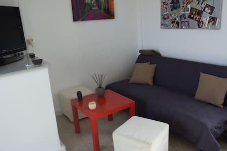 F2 lumineux, Wi-Fi, tout équipé - Amiens - Apartment