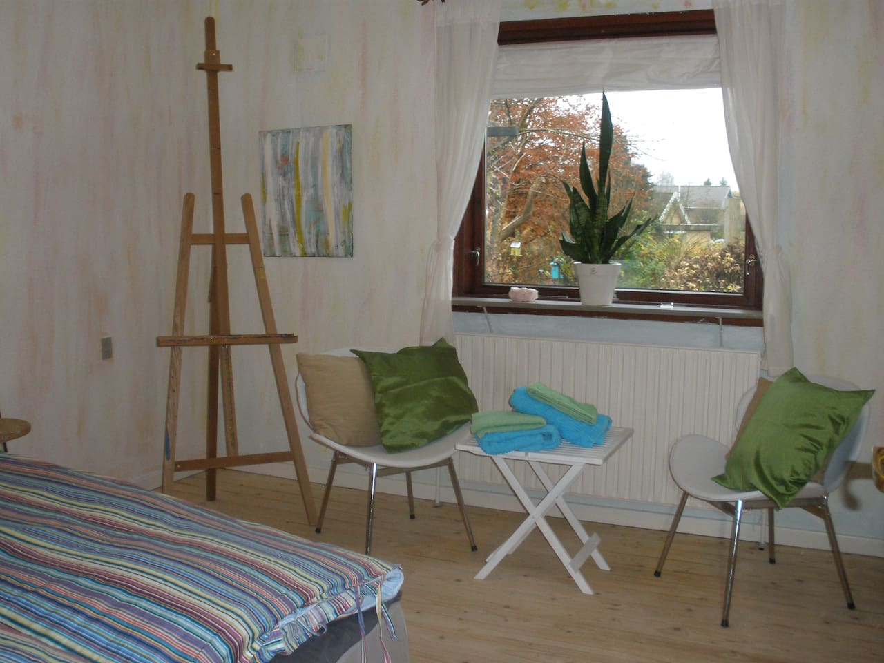 The painting studio room - a double room
