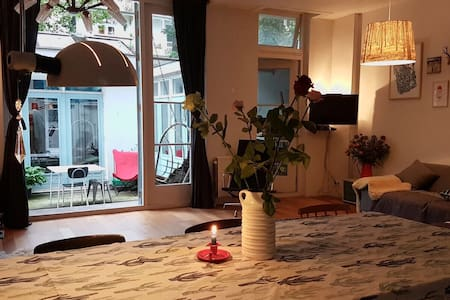 Family house with patio in lively 'De Pijp' area - Appartement