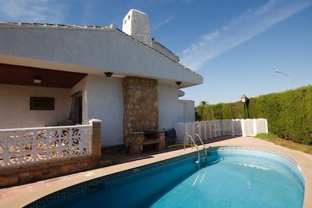Spacious villa by beach, pool, wifi - Orihuela - Villa