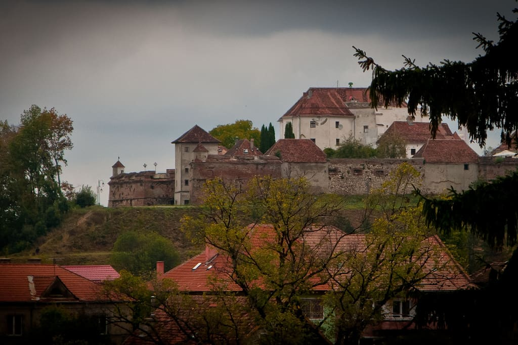 Brasov Citadel,view from apartment's patio
