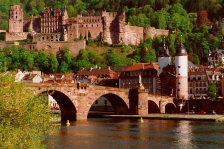 Cosy 4room apt. in fairy-tale city! - Heidelberg