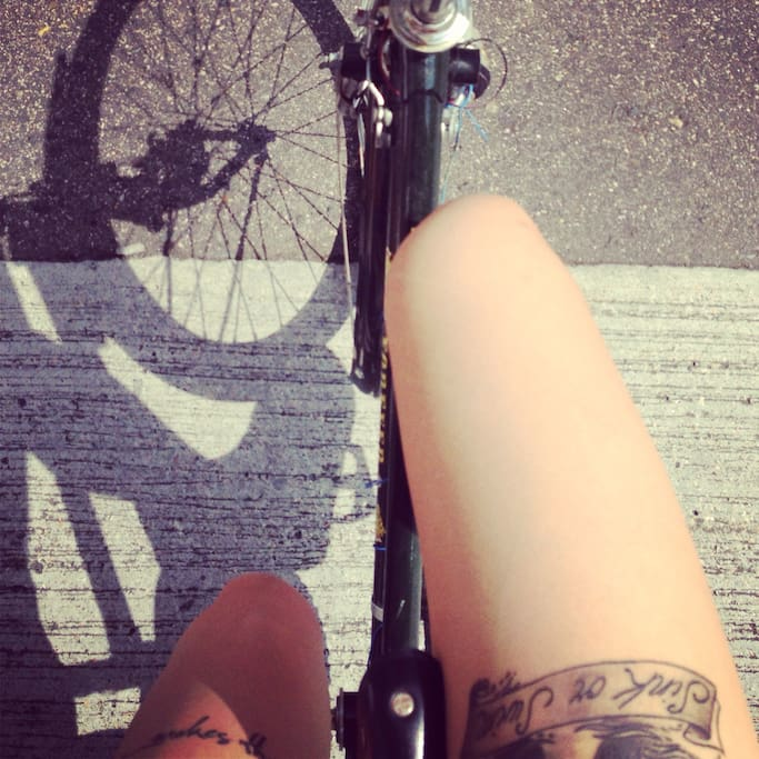 Rent a bicycle with us and venture around the hood