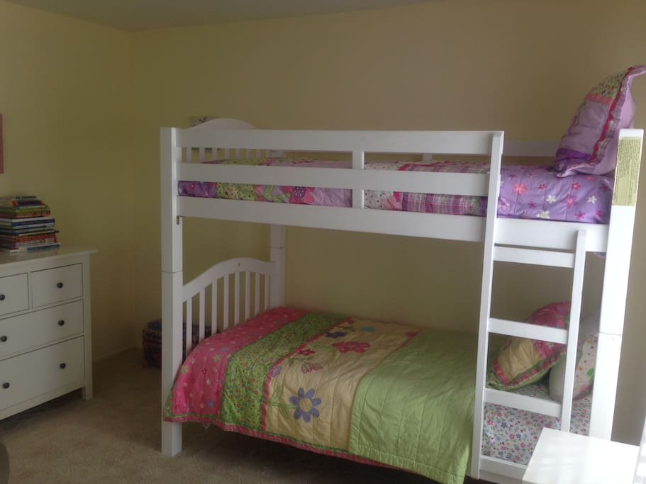 Children's Bunk Room perfectly sleeps 2.