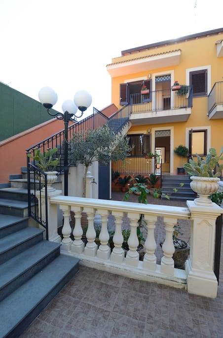 [ Taormina] big house with terrace