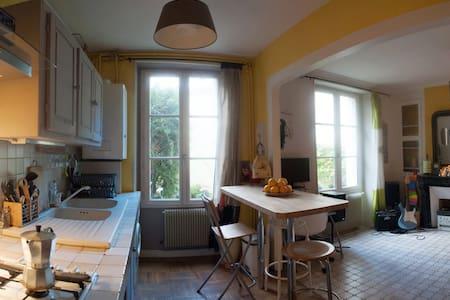 Lovely flat & garden in Montmartre
