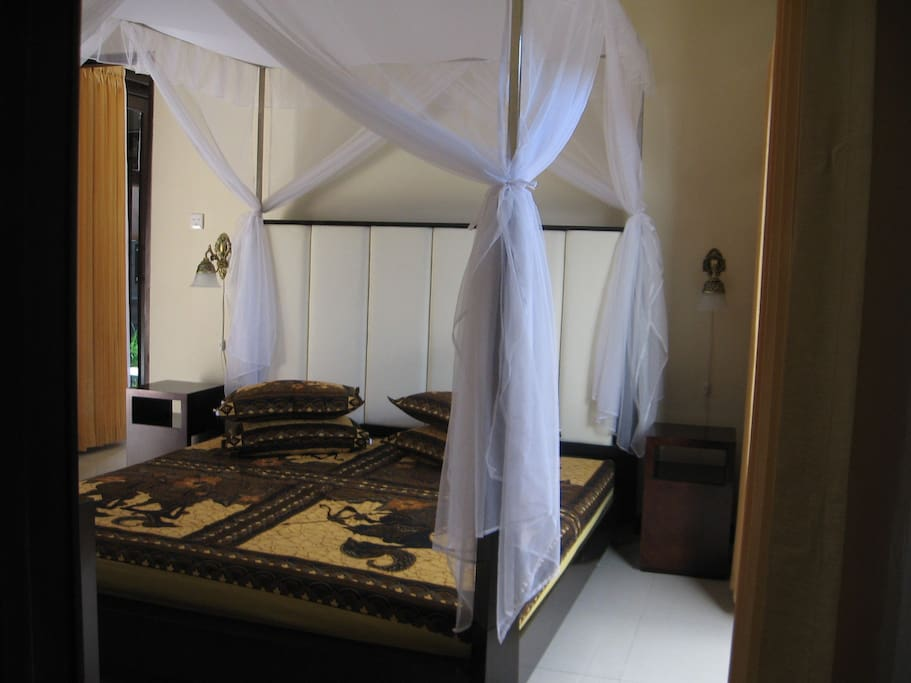 King size bed in each bed room
