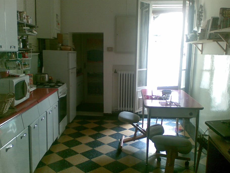 A room in Pasolini's house