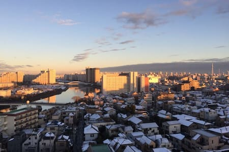 Skytree view 2 bedrooms mansion - Apartment