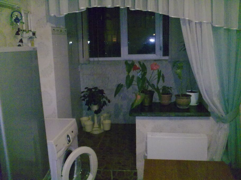 "2 room apartment-University ""Manas"""