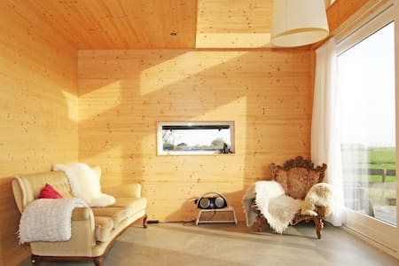 Wooden eco cottage near Amsterdam - Kabin