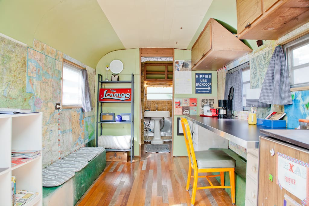 Vintage Airstream in East Austin, T
