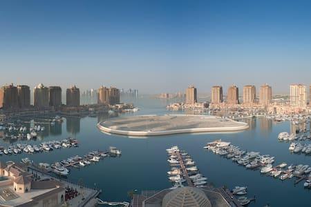 Cozy, comfortable 2BR/2BA Apt Pearl - Doha