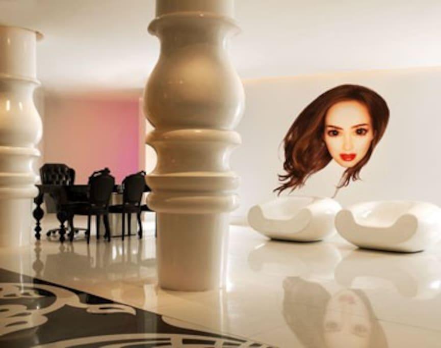 Lobby designed by Marcel Wanders