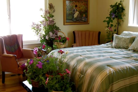 Northern Lights Room at Spring Hill Cottage - Grass Valley
